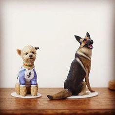 Something we liked from Instagram! シェパードのカッコ良さトイプードルの可愛さがうまく出てます #PET3D #pet3d  #3Dプリンタ #3Dprinter #3Dprint  #ペット #PET #animal #animalhamaguchi  #フィギュア #figure #写真1枚からフィギュア作成出来ます  #애완동물 #멍멍아 #강아지 #고양이  #dogstagram #いぬら部  #catstagram #ねこら部  #シェパード #Shepherd #トイプードル #toypoodle by pet3d check us out: http://bit.ly/1KyLetq