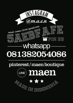Contact #design #maen #vintagetypo