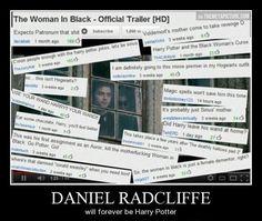 Poor Harry Radcliffe…