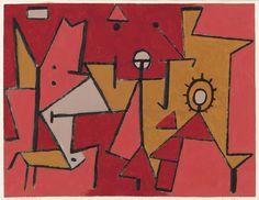 Paul Klee (1879 - 1940): Hitze, 1940