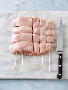 Skip the tedious threading of chicken pieces onto skewers with this 3-step guide. It's a great shortcut – and means you'll be eating delicious kebabs sooner!