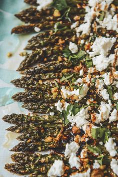 Pistachios Crusted Roasted Asparagus with Feta Lunch, Pistachios, Asparagus, Food, Salad, Dinner, Diet, Dining, Pistachio