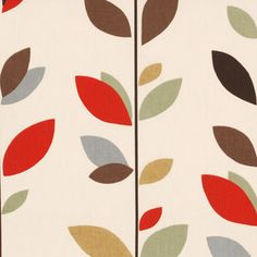 Evergreen Curtain Fabric Cinnamon - Cheap Prices   UK Delivery