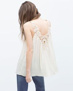 CROCHET FRONT TOP-Woman-NEW THIS WEEK | ZARA United States