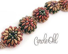 Fall Mumsy Bracelet Kit by Carole Ohl