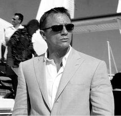 Daniel Craig in Nassau.
