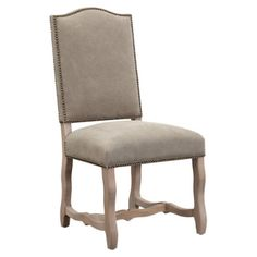 Gaston Side Chair in Gray