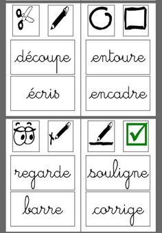 Affichages French Teaching Resources, Teaching Activities, Teaching French Immersion, French Signs, French Worksheets, French Grammar, Core French, School Information, French Expressions
