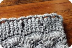Persia Lou: The Shell Cowl: Free Pattern