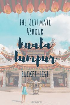 48 Hours in Kuala Lumpur #kualalumpur #traveltips #malaysia Kuala Lumpur, Malaysia Travel, KL travel, Solo travel, Travel Asia, Southeast Asia Travel