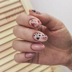✔ Cute Nails Designs For Girls in 2020 Minimalist Nails, Classy Nails, Trendy Nails, Love Nails, How To Do Nails, Nailart, Uñas Fashion, Modern Nails, Girls Nails