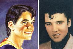 Did Elvis Presley Inspired Captain Marvel Jr? Marvel Comic Books, Comic Book Heroes, The Last Story, Roll Hairstyle, Human Torch, Freddy S, Bucky Barnes, Captain Marvel, Elvis Presley