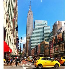 #NewYork streets and #Fiat500