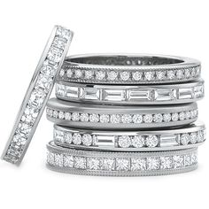 Designed by Precision Set; Channel bands available in different diamond shapes, diamond weights and metal types. Call for further details.
