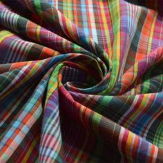 wide, supremely fine cotton lawn in a wonderfully multi coloured small plaid check . I am not so sure who it was made for but I have seen similar articles in little girl's dresses, men's boxer shorts and a ladies blouse. Kilt Accessories, Cotton Lawn Fabric, Scottish Kilts, Tartan Pattern, Plaid Fabric, Fabric Shop, Plaid Scarf, Blouses For Women, Jazz