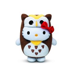 Wisdom Owl x Hello Kitty