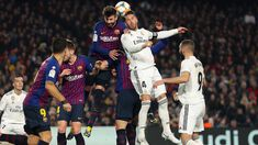 Language English Standfirst: Sergio Ramos should have seen red for Real Madrid against Barcelona, according to Gerard Pique. Real Madrid Captain, Barcelona, Camp Nou, Latest Sports News, New Today, Football, Baseball, Shakira, Sergio Ramos