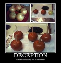 its not funny in the essence of this is how crazy people harm kids...being deceptive. kinda funny i guess