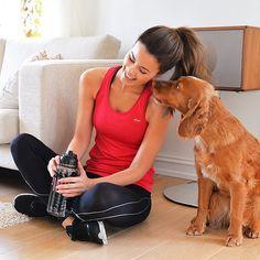 Imagen de dog, girl, and healthy