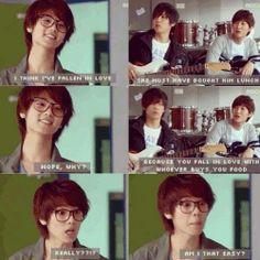 Heartstrings MinHyuk is totally adorable in this drama. Cnblue, Minhyuk, Korean Wave, Korean Star, Zion T, Ver Drama, Drama Funny, Kang Min Hyuk, All Meme