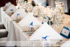 Table Decor at Woolston Manor - Wedding Photography by Clare Kentish Photographer, Rayleigh, Essex