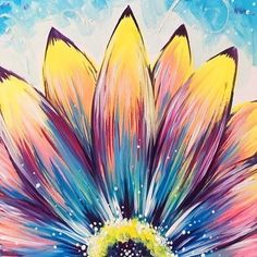 Find the perfect thing to do tonight by joining us for a Paint Nite in Bangor, M. - Find the perfect thing to do tonight by joining us for a Paint Nite in Bangor, ME, featuring fresh - Cute Canvas Paintings, Easy Canvas Painting, Simple Acrylic Paintings, Diy Painting, Painting & Drawing, Simple Flower Painting, Acrylic Painting Flowers, Flowers On Canvas, Flower Canvas Art