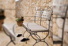 traditional metal garden bench VERSAILLES MANUTTI