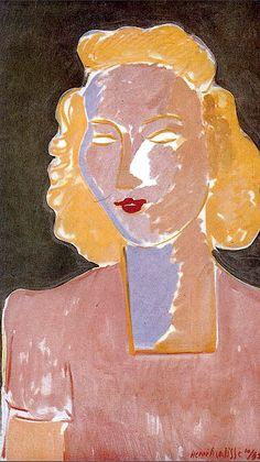 Henri Matisse ~ Young Girl in Rose, 1942