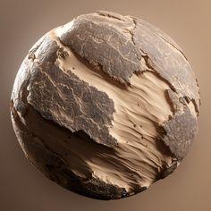 Desert Ground Rocks, Enrico Tammekänd on ArtStation at https://www.artstation.com/artwork/BNNNk