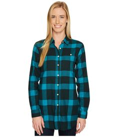 Isabel Long Sleeve Tunic Women's Long Sleeve Button Up Blue Spruce Long Sleeve Tunic, Long Sleeve Shirts, Blue Spruce, Mountain Hardwear, Plaid, Clothes, Collection, Shopping, Mall