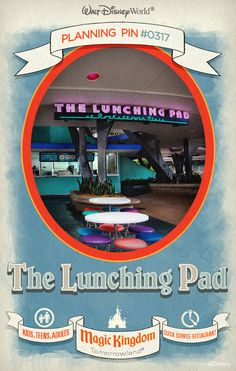 Walt Disney World Planning Pins: The Lunching Pad