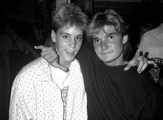 The Two Coreys: Corey Haim and Corey Feldman <3