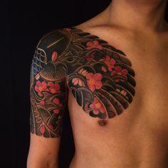 125 Impressive Japanese Tattoos with History & Meaning - Wild Tattoo Art Japanese Tattoo Artist, Japanese Tattoos For Men, Traditional Japanese Tattoos, Japanese Tattoo Designs, Japanese Sleeve Tattoos, Japanese Style, Japanese Prints, Tatuajes Irezumi, Irezumi Tattoos