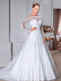 Vestido de noiva modelo: Jaspe