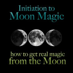 initiation to Moon magic