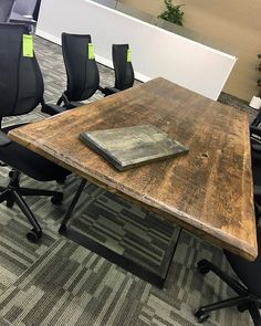 Well just leave this thing of beauty here. Conference Room, Table, Furniture, Beauty, Home Decor, Decoration Home, Room Decor, Tables, Home Furnishings
