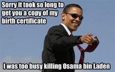 Os melhores memes de Obama #3