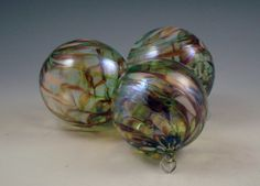 NW HandBlown Glass Holiday/Christmas Ornaments by DBRGlassworks, $16.00