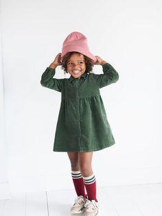 ZARA - KIDS - CORDUROY DRESS