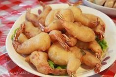 Learn what are Chinese Fish And Shellfish Food Preparation Shellfish Recipes, Shrimp Recipes, Pie Recipes, Easy Recipes, Camaron Rebosado, Prawn Fritters, Butterfly Shrimp, Authentic Chinese Recipes, Fried Bananas