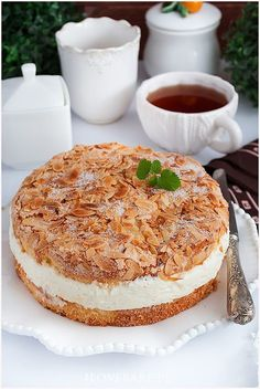 Polish Recipes, I Want To Eat, Cream Cake, Vegan Vegetarian, Cheesecake, Good Food, Dessert Recipes, Food And Drink, Sweets