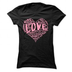 The Official Love Shirt (Pink Logo, 4 Colors Available) T-Shirts, Hoodies (21$ ==► Shopping Now to order this Shirt!)
