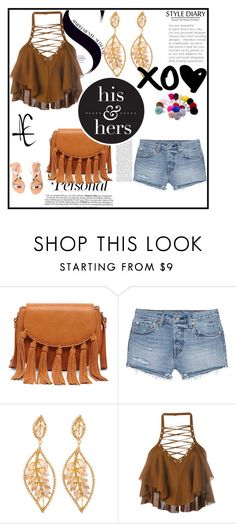 """""""Wild Style"""" by ishowyoushowhy on Polyvore featuring Sole Society, Levi's, Balmain and Ancient Greek Sandals"""