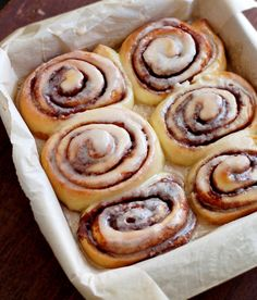 Cinnamon Rolls With Maple Coffee Glaze (1) From: Culinary Cool, please visit