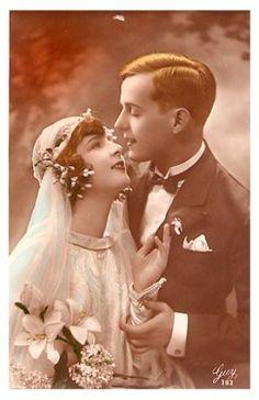 Свадебные фотографии и открытки 19 века.