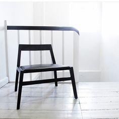 New #danishdesign by #kristiangatten #allgoodthingsdanish #thenewdanes #chair #loungechair #upcomingdesigner #furniture picture by @kristiangatten