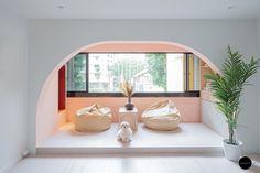 "How to Create a ""Balcony"" When You Don't Have One Dream Home Design, House Design, Green Corridor, Patio Railing, Renovation Budget, Interior Design Singapore, Design Firms, Design Projects, Design Ideas"