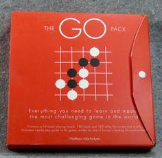 GO GO GO! #GO Pack Board #Game Box Red Macfadyen Complete Unused Carlton Ancient Oriental #Carlton