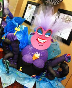 awesome decorated halloween pumpkin may be the contest winner little mermaid ursula - Decorated Halloween Pumpkins