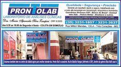 Folha do Sul - Blog do Paulão no ar desde 15/4/2012: PRONTOLAB LABORATÓRIO DE ANÁLISES CLÍNICAS: AGORA ...